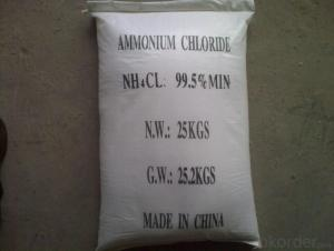 Ammonium Chloride Inorganic Salt Construction Chemicals
