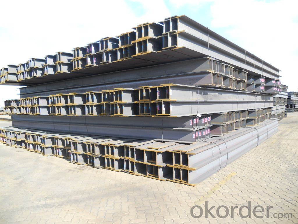JIS Standard Hot Rolled Steel H Beams for Construction