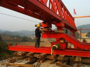 Easy Operation Cantilever Segment Launching Gantry