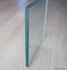Safety Glass Laminated Glass 6.38-17.52mm for Construction, Internal Decoration, Furniture