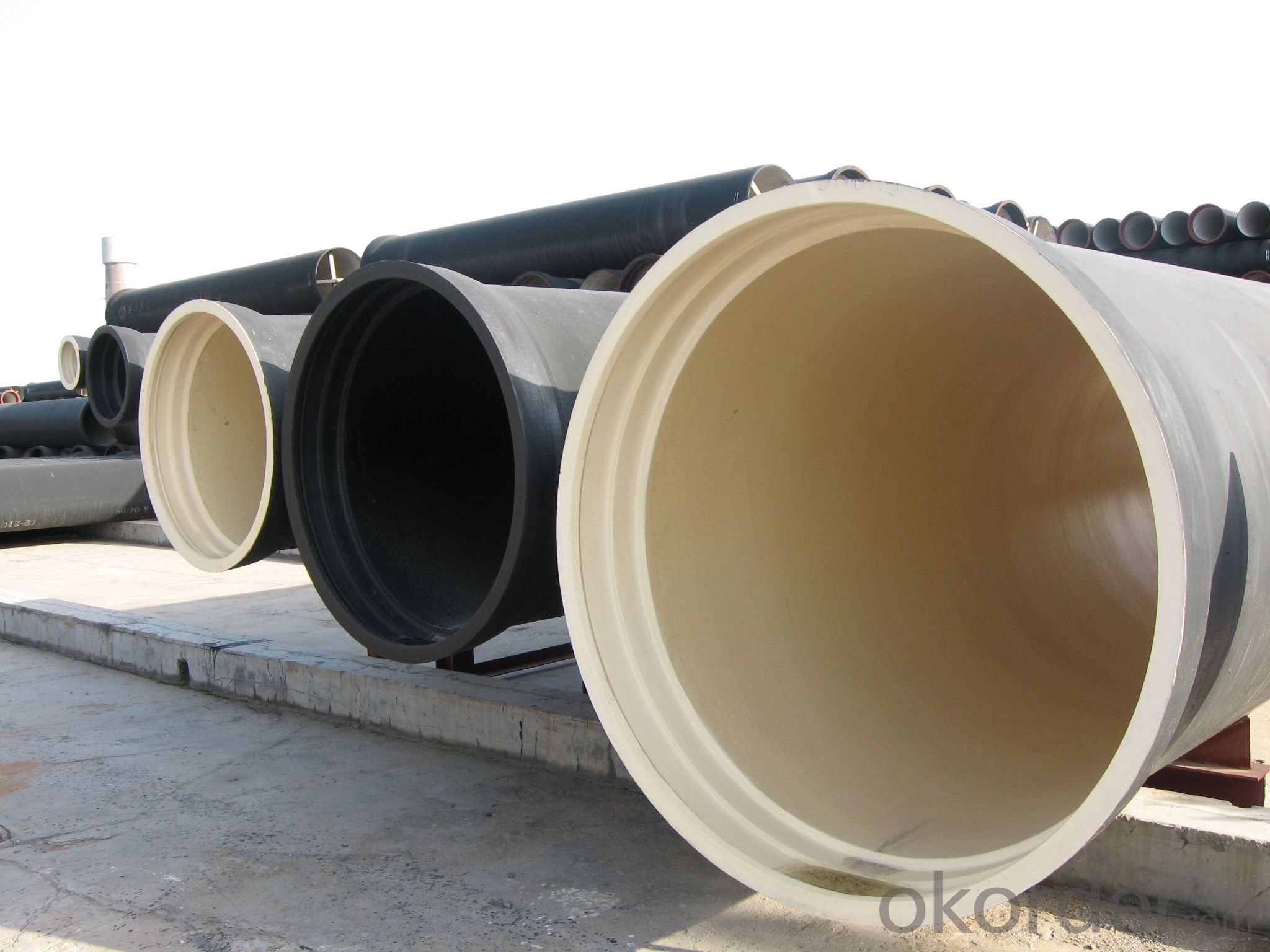 T Type Ductile Iron Pipe DN2000
