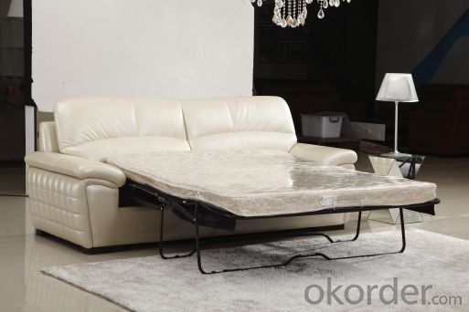 Modern recliner sofa 3 seater with bed