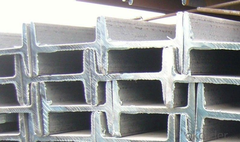 Hot Rolled Steel I-Beams Q235, A36 for Construction