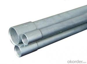Galvanized steel conduit