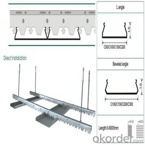C-strip/S-strip/H-strip Stretch Ceiling