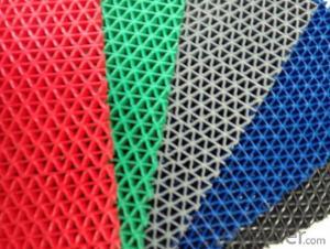 PVC anti-slip S & Z mat