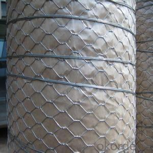 Galvanized Hexagonal Wire Mesh 0.46 mm Gauge