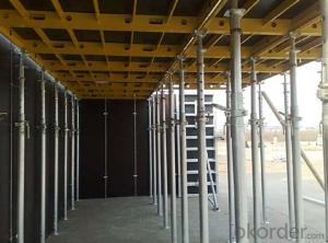 Tripod & Beam Clamp formwork and scaffolding system