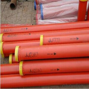 Concrete pump spare parts concrete pump boom pipe