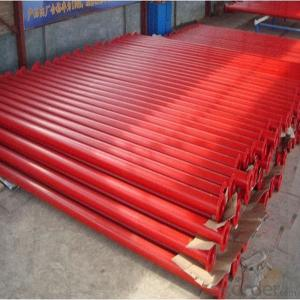 concrete pipe of sany concrete pump spare parts