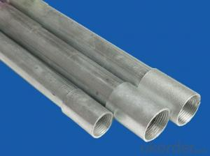 British standard galvanized steel conduit pipe