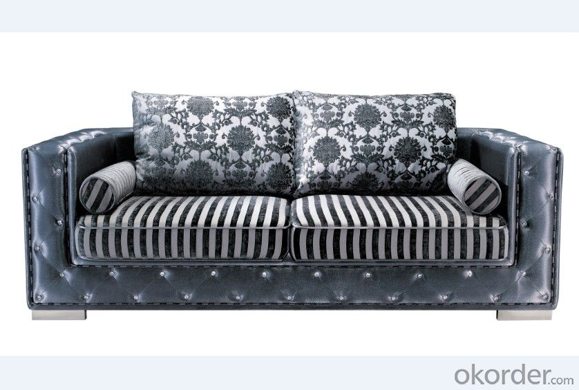 Fabric Chesterfield sofa