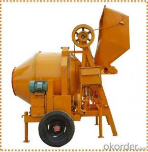 Discharge volume 250L building concrete mixer