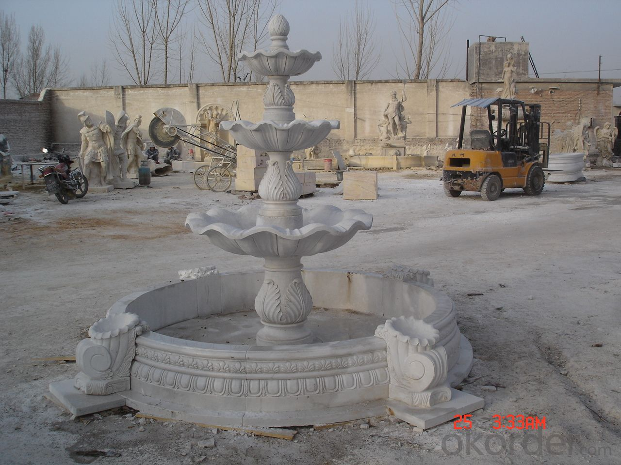 Fountain made from Marble