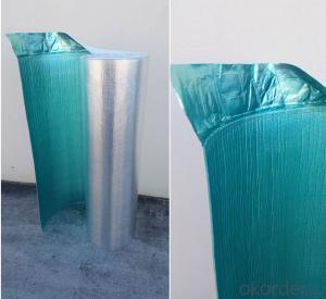 aluminum foil foam insulation with overlape