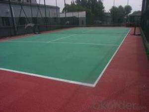 Sports flooring , artificial floor