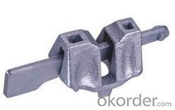 casting steel ledger end