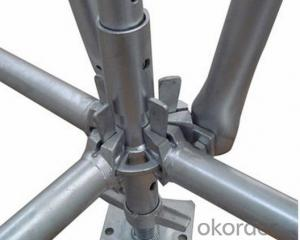 high strength ringlock scaffold ledger end