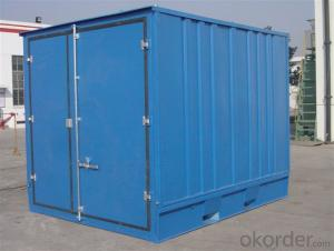 Cheap Galvanzied Steel Storage Prefabricated House