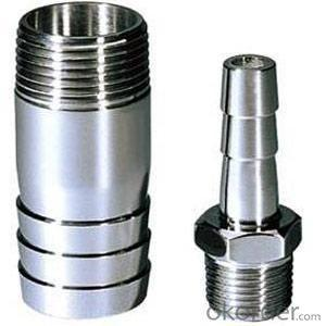Hydraulic hose fittings for 4SH DN38