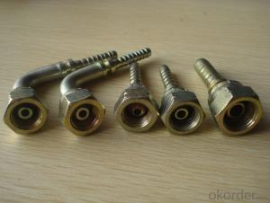 Hydraulic hose fittings for 1SN DN38