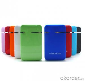 Portable Power Bank 12000 mAh with Variable Color and Large Capacity