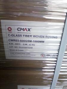 C Glass Woven Roving For FRP Application