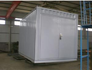 Galvanzied Steel Storage Prefabricated House Made in China
