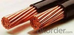 Copper coated/coppering steel wire rope 7x7