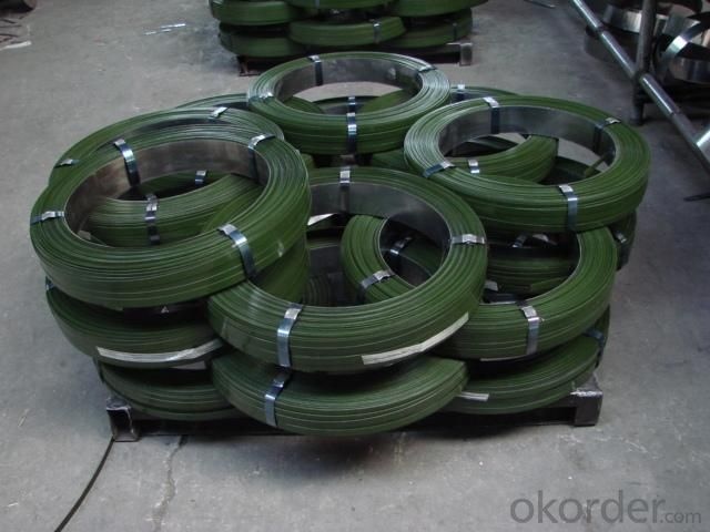 black/blue/galvanized steel packing strip