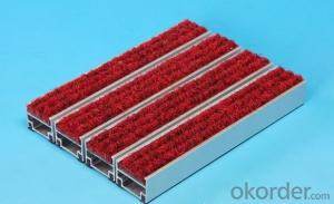 Aluminium alloy entrance mat