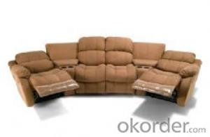 Modern recliner sofa Imported leather 6 seater 2 recliner