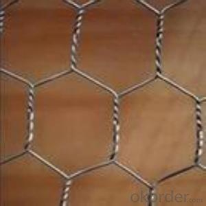 Galvanized Hexagonal Wire Mesh 0.6 mm Gauge