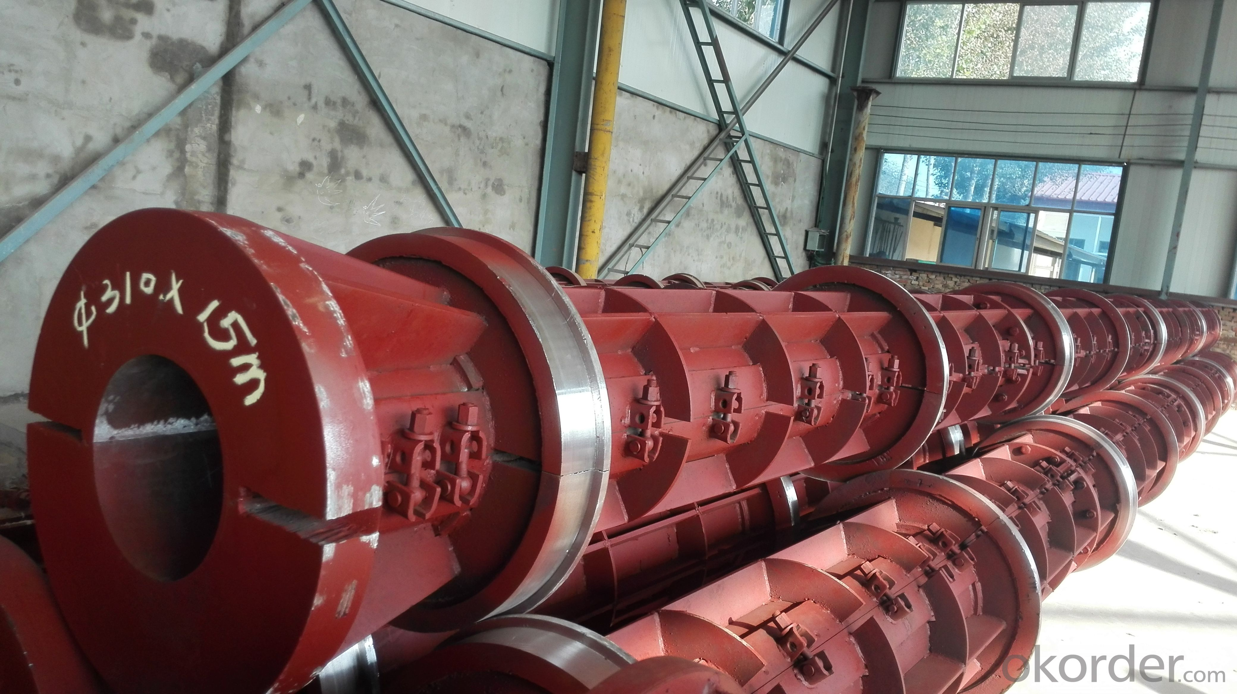 concrete pole plant mould 10 meters