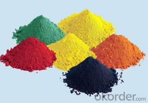 Iron oxide Iron(III) oxide yellow for coating, building materials, plastics and rubber