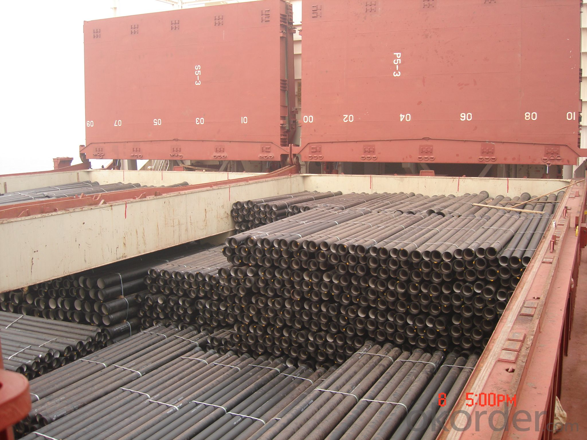 DUCTILE IRON PIPE DN300 K8