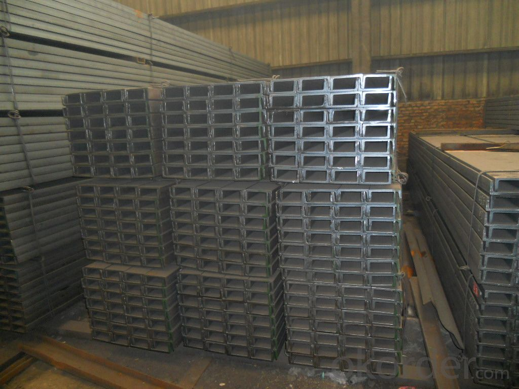 Hot Rolled Steel U Channels with EN Standard for Construction