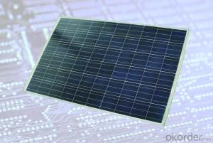 Polycrystalline Silicon Photovoltaic Component100W