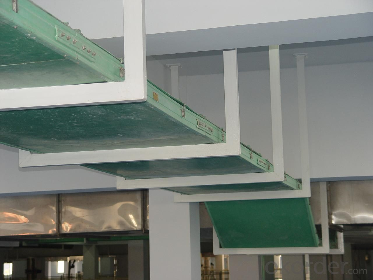 Glass steel cable tray