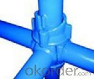 cuplock standard scaffolding system