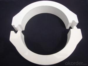 Refractory Quartz Floating Ring-Half