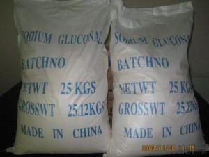 Sodium Gluconate Concrete Admixture