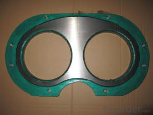 Zoomlion Spectacle Wear Plate and Cutting Ring  DN200