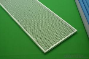 factory acoustic perforated aluminum ceiling tiles