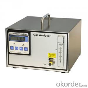 Portable pumping O2 Oxygen Gas Analyzer Z230