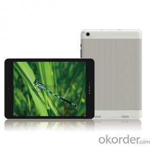 Tablet PC 7.85 Inch Mtk8312 Dual-core Tablet PC with 3G calling/GPS/Bluetooth function
