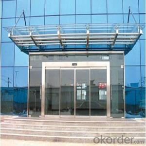 Auto Door New Design Glass Sliding