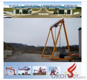 MH Electric Single-girder Gantry Crane