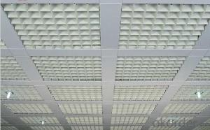 Aluminum Ceiling Designs For Shops(OP-100)
