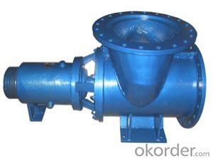 HZW series chemical single stage axial flow pump